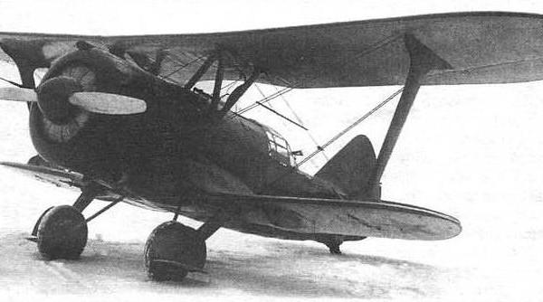 10.Серийный ДИ-6и М-25В № 81024 на испытаниях в НИИ ВВС. Октябрь 1937 г.