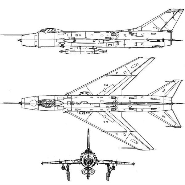 10.Су-7Б. Схема 2