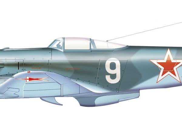 10.Як-9У. Рисунок.
