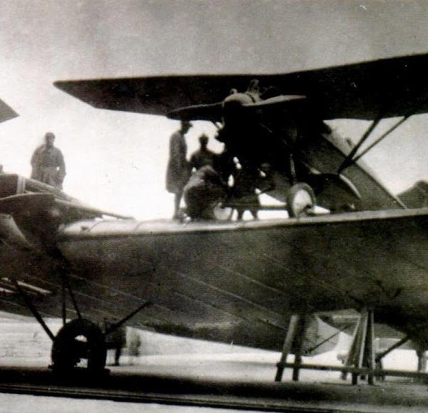 10.Звено-2 в составе ТБ-1 и двух И-4