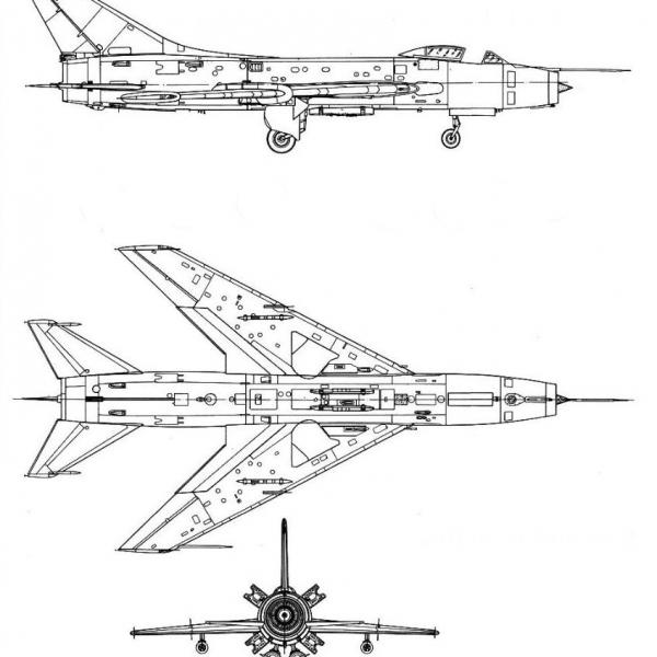11.Су-7Б. Схема 3