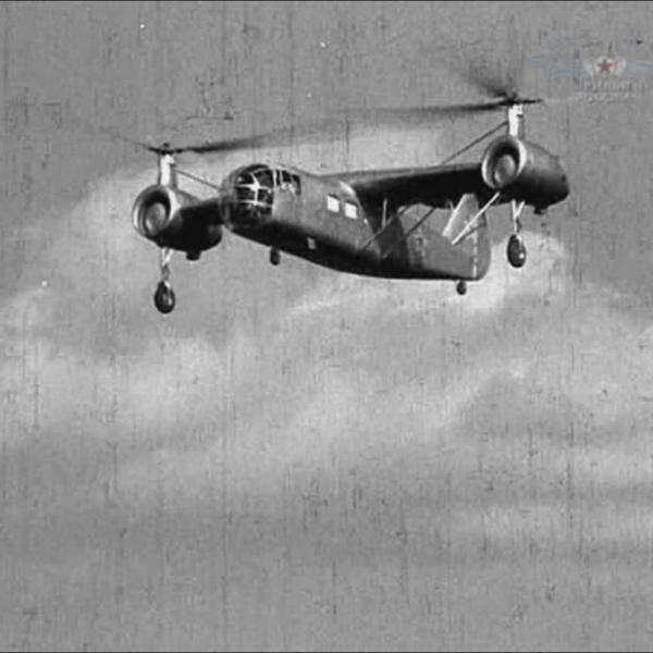 11.Вертолет Б-11 в полете. 4