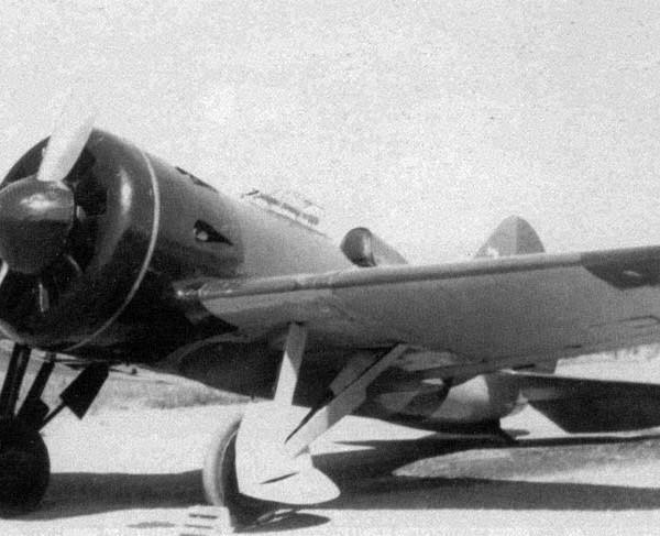 11а.И-16 тип 5 республиканских ВВС.