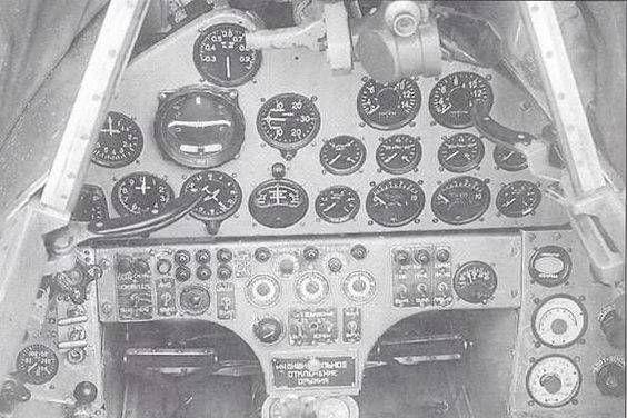 12.Приборная панель истребителя Су-9 (первый).