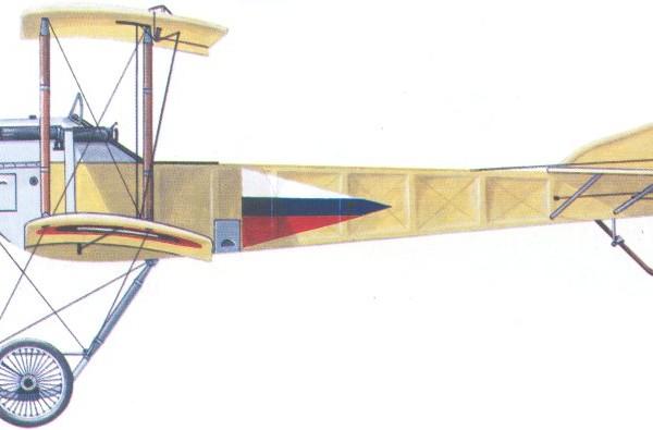 12.С-16 из Эскадры воздушных кораблей. 1915 г. Рисунок.