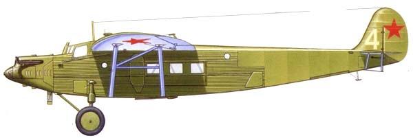 12.Военно-транспортный К-5 М-17Ф.Рисунок