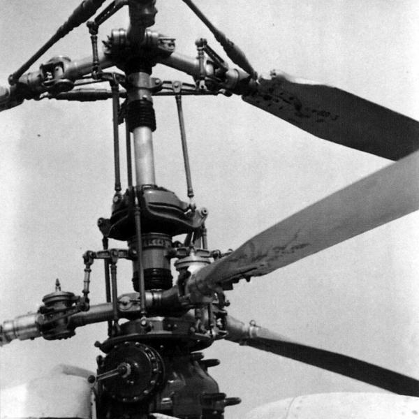 13.Автомат-перекоса Ка-15.