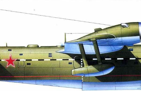13.Бе-6 принимавший участие в исследовании мореходности на Северном флоте в 1953 г.