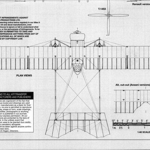 13.Caudron G.III. Схема 5.