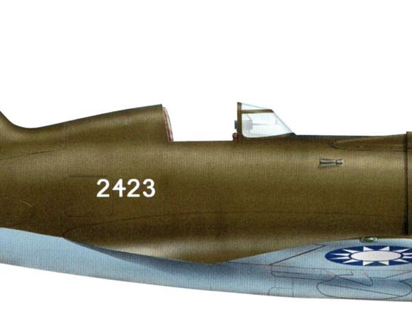 13.И-16 тип 18 ВВС Гоминьдана. Рисунок.