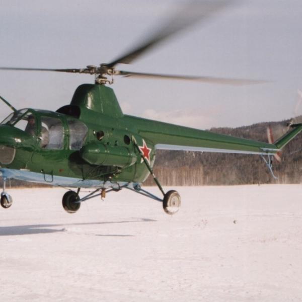 13.Ми-1М восстановленный. Сибирь. 2009г.