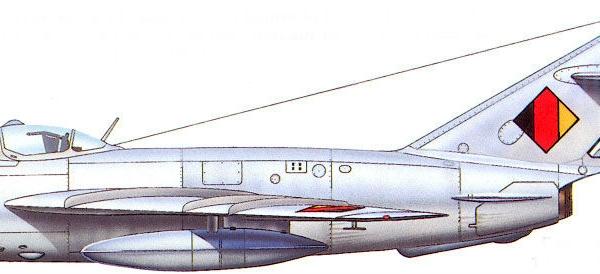 13.МиГ-17ПФ ВВС ГДР. Рисунок.