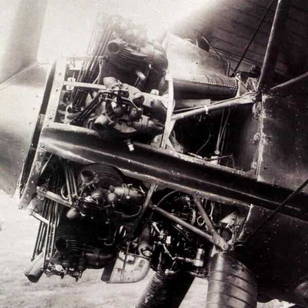 13.Раскапо.дв. Gnome-Rhone Jupiter VI на 2-м прототипе И-5.