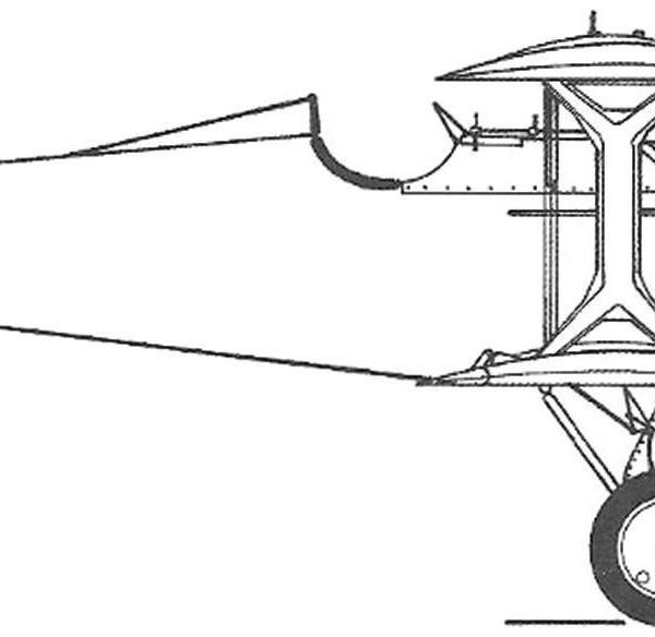 13.Серийный И-2бис. Схема.