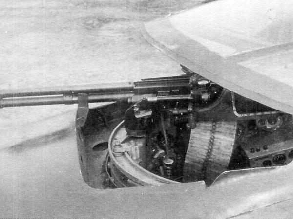 13.Установка ВУБ-2 с пулеметом УБТ (боевое положение).