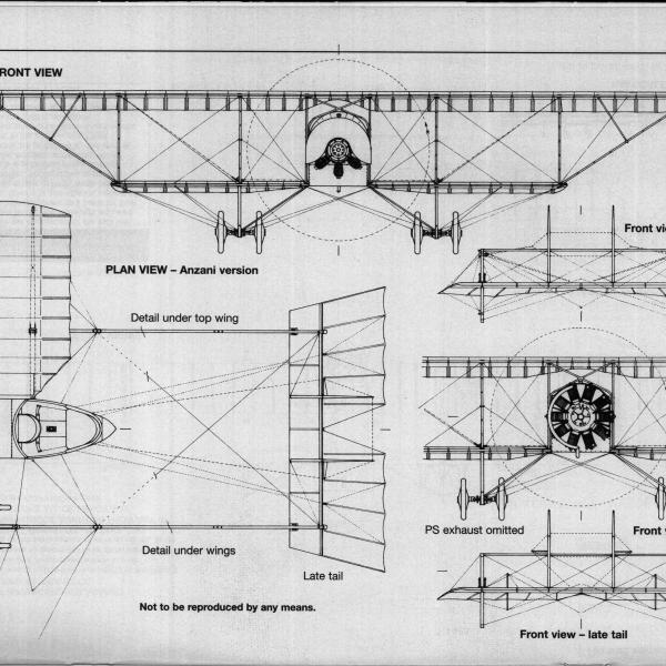 14.Caudron G.III. Схема 6.