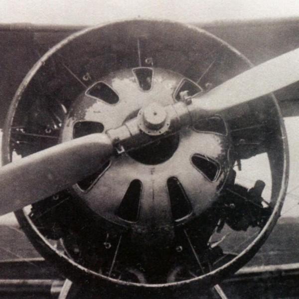 14.Дв. М-22 на И-5бис, с кольцевым капотом Тауненда.