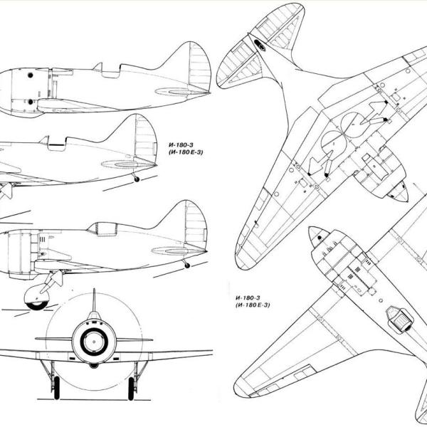 14.И-180. Схема