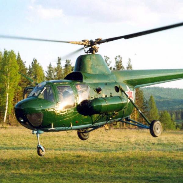 14.Ми-1М восстановленный. Сибирь. 2009г. 3