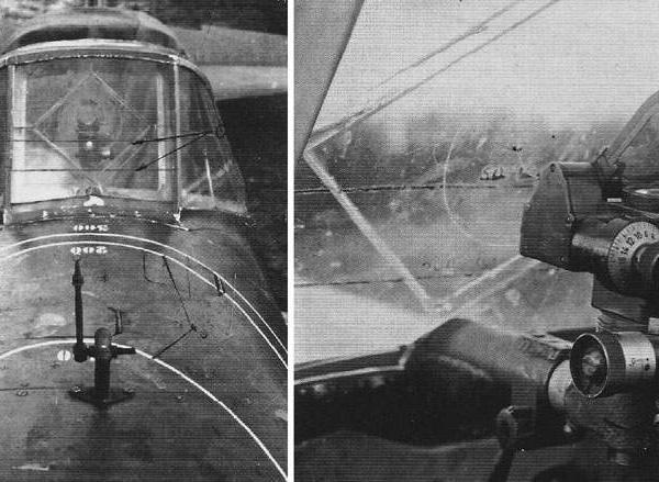 14.ВВ-1 (слева) и прицел ПБП-1б на Ил-2.