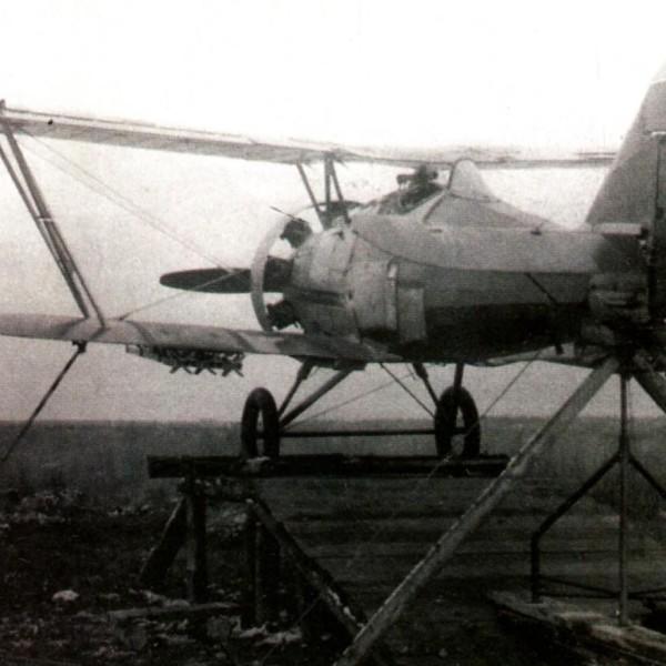 14а.С 1935 г. И-5 участвовал в испытаниях РС-82.