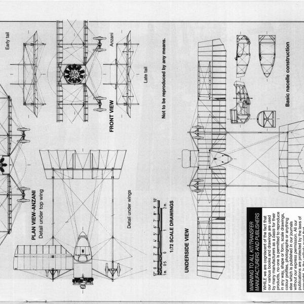 15.Caudron G.III. Схема 7.