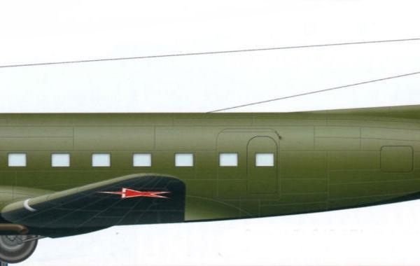 15.Ли-2 ВВС СССР. Рисунок.