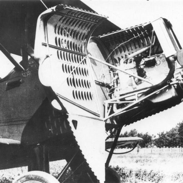 16.Автомобильный двигатель ГАЗ-Авиа на У-2. 2