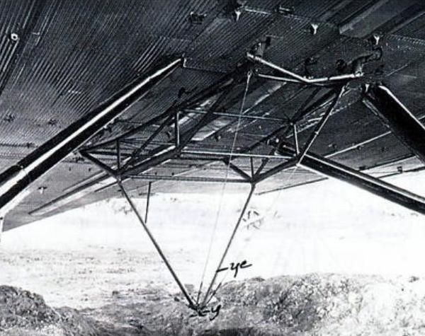 16в.Опускаемая ферма под ТБ-3 для подцепа И-Z