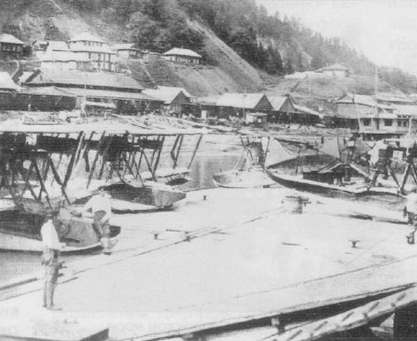 17.База отряда летающих лодок М-9.