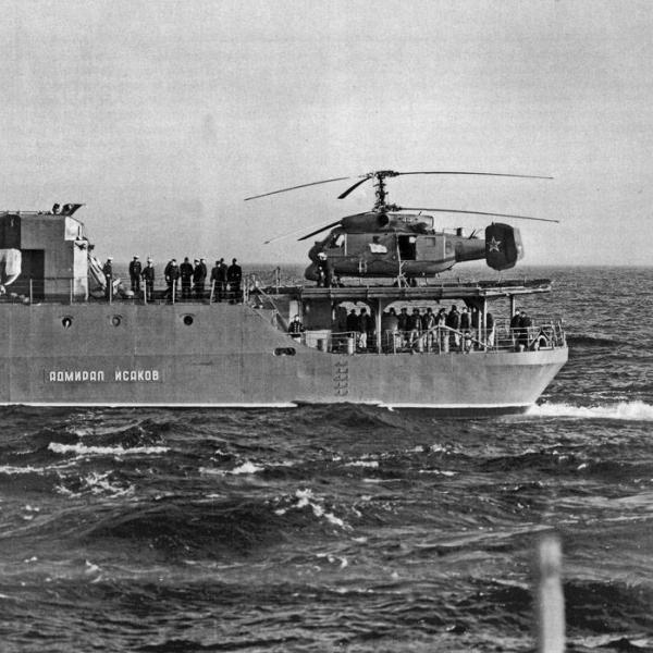 17.Ка-25ПЛ на палубе.