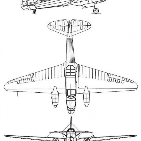 17.УТ-3 (АИР-17). Схема 1