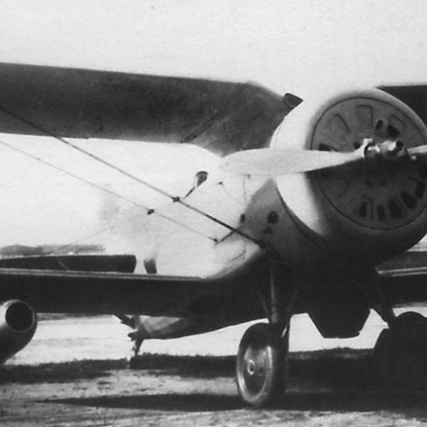 17а.Истребитель И-153 с ПВРД. 1940 год