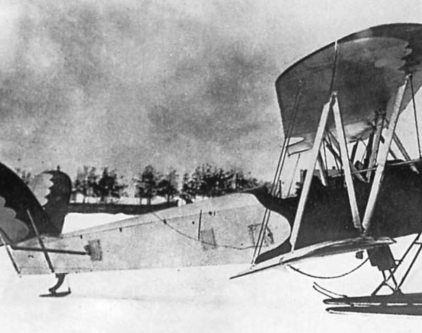 17б.У-2 с V-образным оперением конструкции Филатова