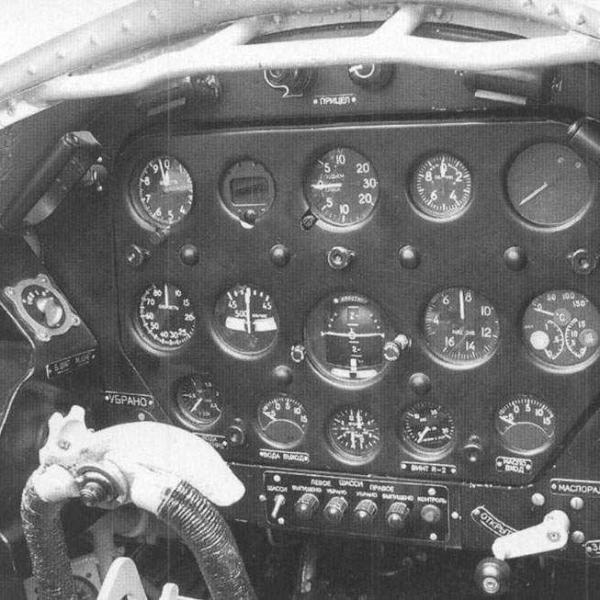 18а.Кабина МиГ-3.