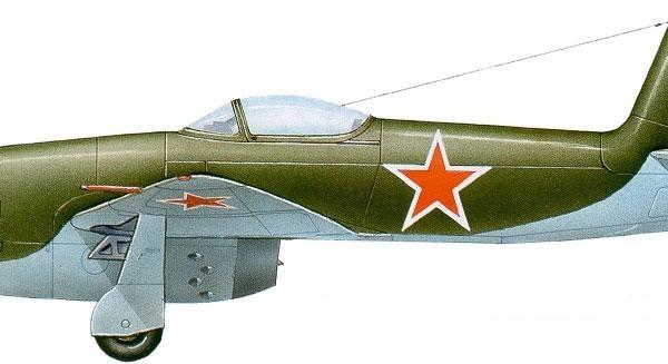 18а.Як-15 опытной серии. Рисунок.