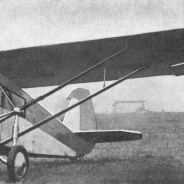 1а.Легкий пассажирский самолет СТАЛЬ-2.