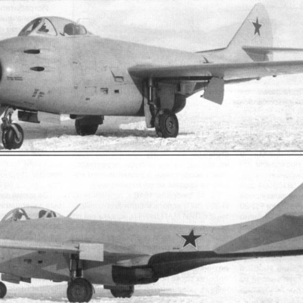 1а.Опытный МиГ-9М (И-308 ФР)