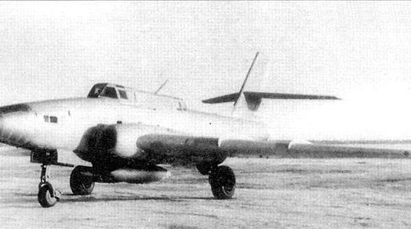 1а.Опытный штурмовик Ил-40.