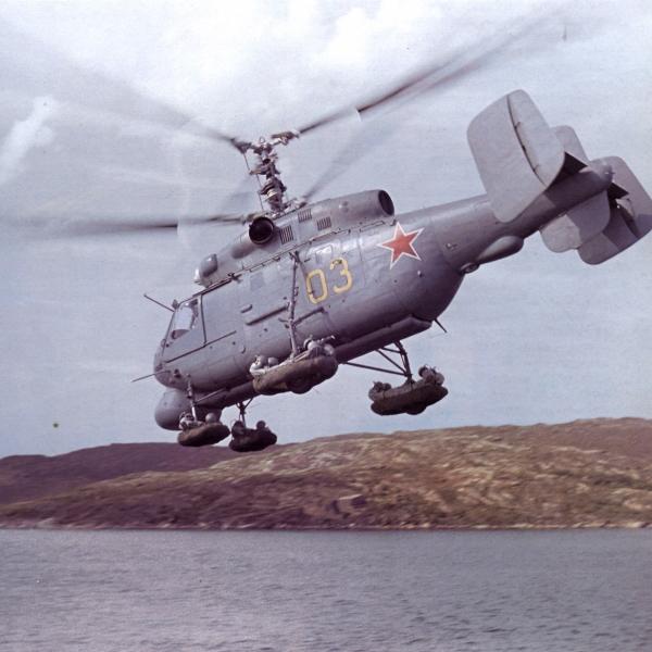 1а.Прототип Ка-25ПЛ доработанный после испытаний в Североморске.