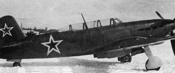 1а.Самолет ЯК-9В (вывозной). ЦАГИ. 1945 г.