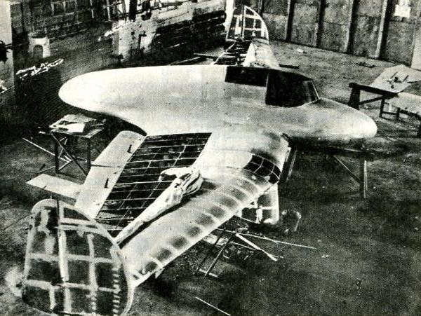 1а.Сборка планера К-12. 1933 г.