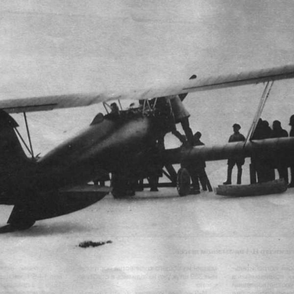 1б.Первый И-3 на испытаниях