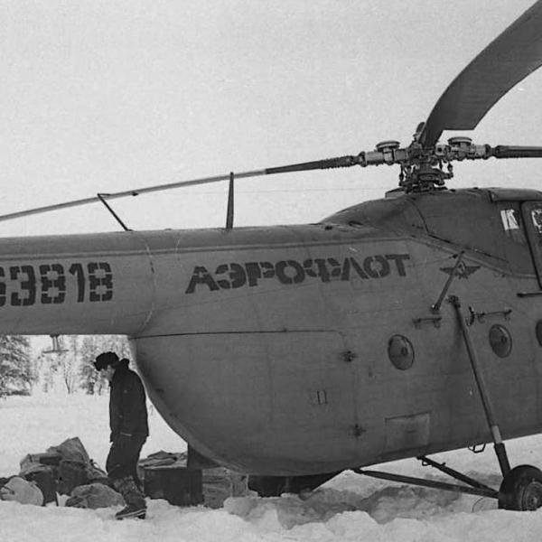 1з.Ми-4 Аэрофлота. Якутия. 1980-е. 2