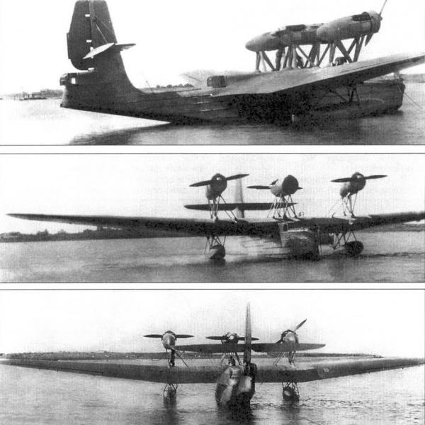 2.АНТ-27 (МДР-4) во время испытаний. Севастополь 1935 г.
