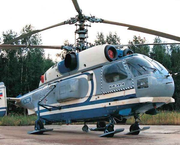 2.Ка-32А на стоянке. 2