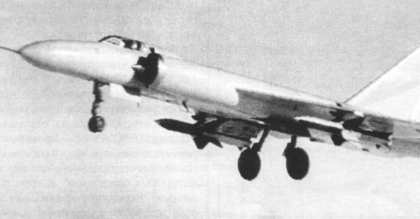 2.Ла-250А на испытаниях в ЛИИ.