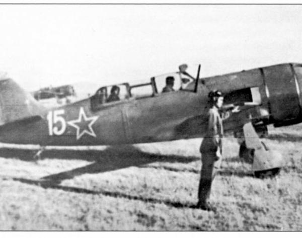 2.Ла-9В. Ейское военное авиационное училище летчиков.