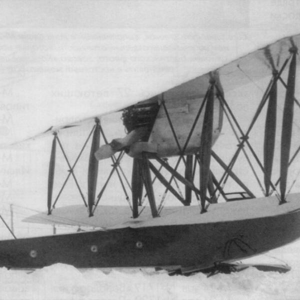 2.М-24 зав. № 1721 Красный Путиловец на лыжном шасси.