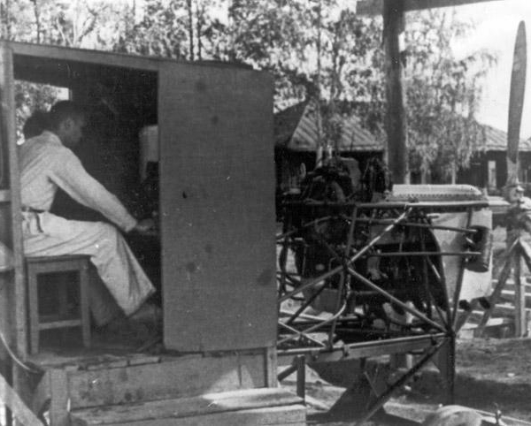 2.М.Л.Миль на испытаниях мотоуст. АК. г.Билимбай 1942 г.